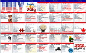 July 2015 Resident Calendar
