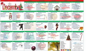 December 2015 Resident Calendar