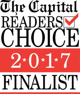 2017 Capital Gazette Readers Choice Finalist