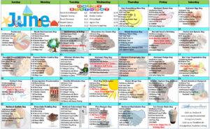 June 2017 Resident Calendar