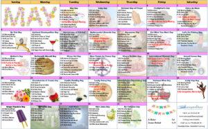 May 2018 Resident Calendar