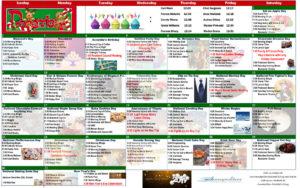 December 2018 Resident Calendar