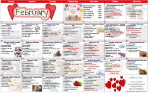 February 2019 Resident Calendar