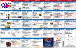 July 2019 Resident Calendar