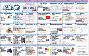 January 2020 Resident Calendar