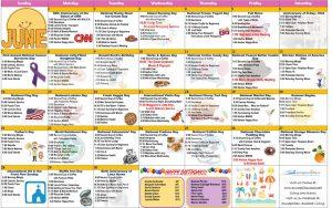 June 2020 Resident Calendar