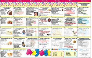 August 2020 Resident Calendar