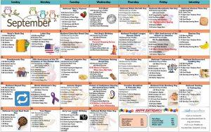 September 2020 Resident Calendar