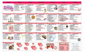 February 2021 Resident Calendar