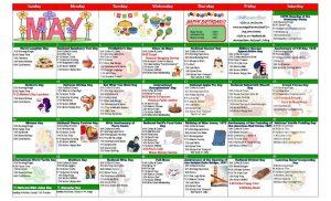 May 2021 Resident Calendar